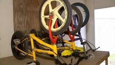 Clube Sorocabano de Bicicross é furtado pela segunda vez em 20 dias - Ladrões levaram mais três bicicleta do Clube Sorocabano de Bicicross nesta segunda-feira (18). Este é o segundo furto registrado em 20 dias.