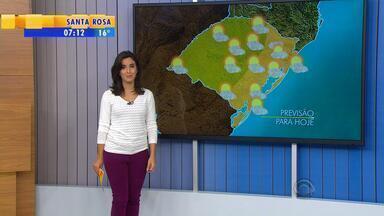 Tempo: terça-feira (19) amanhece com temperatura amena na Serra - À tarde, o calor continua no estado.