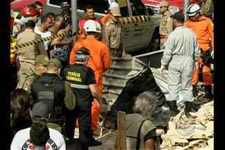 Polícia abre inquérito para investigar desabamento de uma construção no bairro do Umarizal - Um dos homens que trabalhava na obra morreu no acidente ocorrido na manhã de domingo (17).