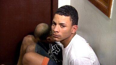 Dois homens são presos suspeitos de série de assaltos em Belo Horizonte - Segundo a PM, os roubos foram em bairros da Região Leste.