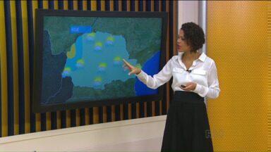 Confira a previsão do tempo para esta terça-feira - Previsão é de chuva rápida em todo estado.