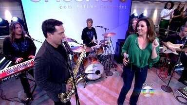 Daniel Boaventura e Marisa Orth cantam no Encontro - Dupla interpreta a música 'Você não Vale Nada', do banda Calcinha Preta