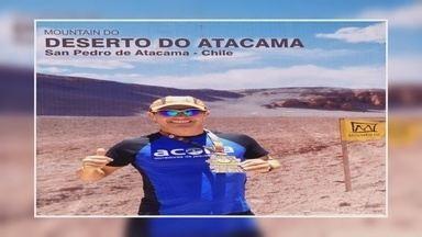 Conheça o coronel que também é maratonista - Israel se prepara para correr uma maratona na África do Sul.