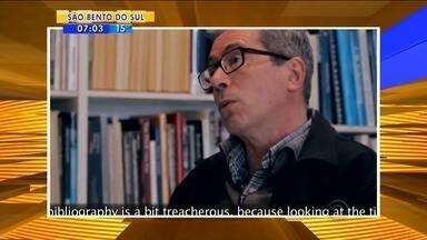 Feira do Livro de Jaraguá do Sul terá a presença do escritor argentino - Feira do Livro de Jaraguá do Sul terá a presença do escritor argentino