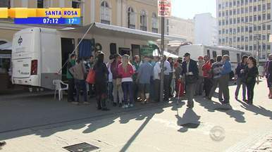 Defensoria Pública realiza mutirão de atendimento - Serviço está à disposição no Largo Glênio Peres, em Porto Alegre.