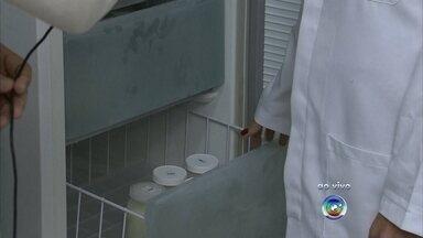 Bancos de leite estão com estoques baixos em Jundiaí - E agora um outro alerta na área da saúde. Os bancos de leite de Jundiaí (SP) precisam de ajuda porque os estoques estão baixos. O Ministério da Saúde até lançou uma campanha pra incentivar a doação.