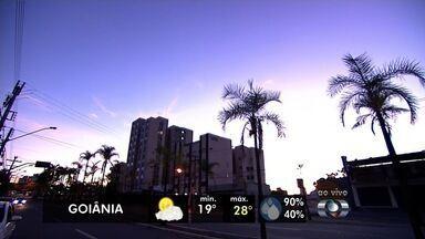 Confira a previsão do tempo para Goiás - Expectativa é de poucas nuvens sobre o estado e tendência é de redução das chuvas.