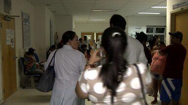Maternidade Nossa Senhora de Lourdes está lotada, diz médica da unidade - Maternidade Nossa Senhora de Lourdes está lotada, dizem médica da unidade.