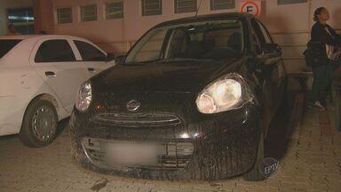 Adolescente é apreendido duas vezes no mesmo dia por roubo em Campinas - O adolescente foi apreendido na noite de quarta-feira (20) no Parque Itajaí com um carro que tinha sido roubado na última segunda-feira (18).