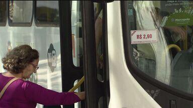 Passagem do ônibus em Santos ficará mais cara a partir de domingo - A tarifa vai passar dos R$2,90 para R$3,25.