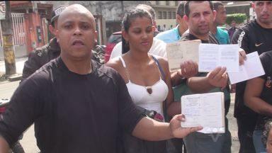 Vigilantes que trabalham na Fundação Casa realizam protesto - Motivo do ato é a falta de pagamento dos profissionais.