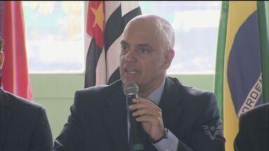Secretário Estadual de Segurança Pública está no Guarujá - Ele participou, hoje de manhã, de uma reunião do Condesb.