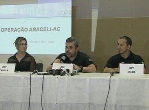 PF faz operação contra pedofilia em Rio Branco, no Acre - Operação Araceli tem o objetivo de reprimir a divulgação da pornografia infantil na internet.