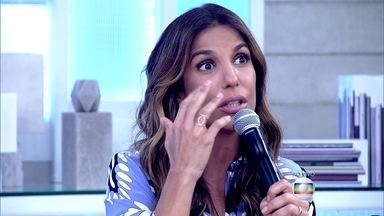 Ivete Sangalo diz que chorou vendo Angélica falar sobre o acidente - Maria Ribeiro confessa que leva celular para dormir e Fátima assume sua ansiedade também