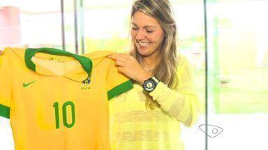 Jogadora de futebol do ES é convocada para Copa do Mundo - A atacante Gabriela Zanotti foi chamada para a Copa do Mundo, no Canadá, a partir de 9 de junho.