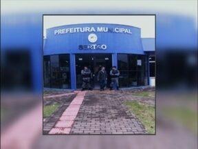 Operação do MP investiga agentes públicos e privados em Sertão,RS - Há mandados de busca e apreensão em 12 locais no município