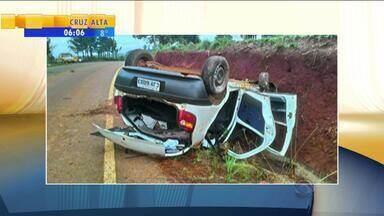 Ao menos oito pessoas morrem em acidentes de trânsito no final de semana no RS - Um motociclista morreu na manhã deste domingo (31), após colidir moto com veículo na BR-116, em Guaíba.