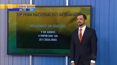 Programa gaúcho do artesanato recebe inscrições para feira nacional de negócios - A feira acontece entre os dias 2 e 12 de julho em Olinda, Pernambuco.