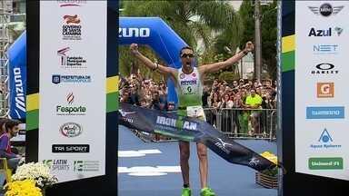 Belga Marino Vanhoenacker vence o Ironman em Florianópolis - Belga Marino Vanhoenacker vence o Ironman em Florianópolis