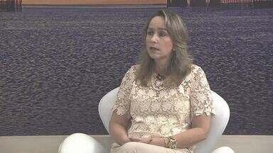 Promotora de Justiça fala ao estúdio sobre finalização da 3ª etapa da FPI no Velho Chico - Lavínia Fragoso opina sobre o assunto.