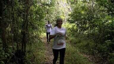 Em Alagoas, atletas se reúnem no primeiro trekking ambiental - Competição foi disputada no sábado, em uma área de proteção ambiental do IMA.