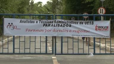Greve dos servidores atinge três instituições públicas no sudoeste do estado - Parte dos servidores do Instituto Federal da Bahia, da Universidade Federal da Bahia e da Universidade Estadual do Sudoeste estão em greve.