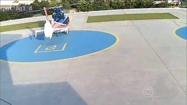 Queda de helicóptero que matou filho de Alckmin tinha componentes desconectados - A FAB (Força Aérea Brasileira) afirmou que dois componentes estavam desconectados, antes da decolagem do helicóptero que sofreu um acidente em abril e matou cinco pessoas. Entre elas o filho do governador de São Paulo Geraldo Alckmin.