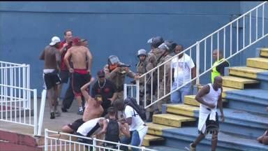 Justiça do RJ impede que torcida organizada do Vasco se aproxime da Arena da Baixada - Neste sábado (6), Atlético Paranaense e Vasco jogam em Curitiba, pelo Campeonato Brasileiro.