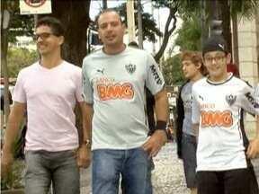 Torcedores de Atlético-MG e Cruzeiro vivem expectativa do clássico deste sábado - As duas equipes se enfrentam no Independência.