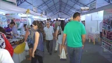 Confira as curiosidades da 4ª edição da Rondônia Rural Show - Uma das curiosidades que chamou bastante atenção de quem visitou a feira foi a linguiça feita de peixe.