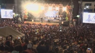 Começa Festa do Cupuaçu em Presidente Figueiredo no AM - Diversas atrações nacionais animam festa.