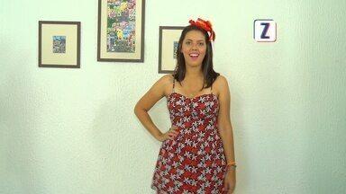Confira dicas para montar look de festa junina - O Zappeando deste sábado (13) está no clima das festas juninas. Se você ainda não sabe o que vestir, não perca as dicas de moda que a Camila Seixas vai mostrar, neste programa.