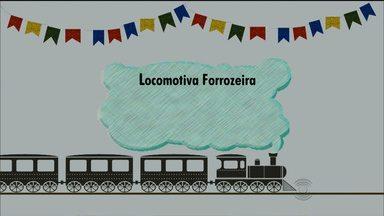Confira a agenda da Locomotiva Forrozeira - Veja no vídeo data e hora das saídas.