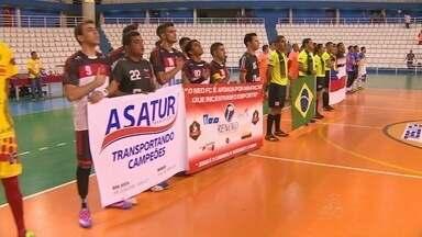 Começou nesta sexta-feira a Super Copa Rede Amazônica - Primeiro dia de disputas recebeu os jogos Omã x Evolution e Roma PSG e NEO FC.
