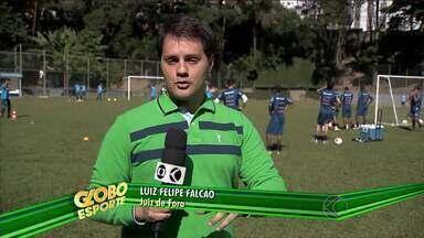 Leston Júnior espera contar com reforços para próxima partida do Tupi-MG - Intervalo na Série C do Campeonato Brasileiro não significa descanso para o time. Tupi enfrente a Portuguesa no dia 27/06