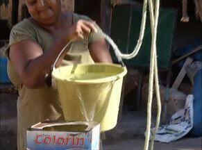 Poço artesiano começa a ser furado em Chapada de Natividade para combater falta de água - Poço artesiano começa a ser furado em Chapada de Natividade para combater falta de água