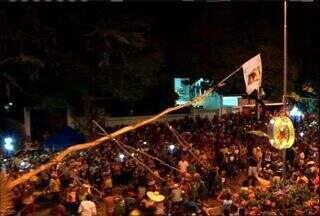 Festa do pau da bandeira em Barbalha termina neste fim de semana - Evento reuniu mais de 500 mil pessoas nos 13 dias.