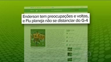 Enderson Moreira tem problemas para escalar Fluminense - Fred e Wellington Silva aida se recuperam de lesões, e Antônio Carlos sente dores na coxa esquerda.