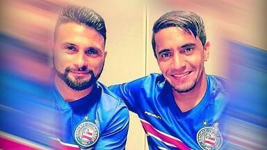 Paraguai e Argentina se enfrentam na Copa América; mas no Bahia os 'rivais' são entrosados - Confira as notícias do tricolor baiano.