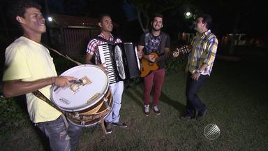 Forrozeiro Norberto Cangaia participa da Gincana Junina do GE - Desafio reúne artistas baianos.