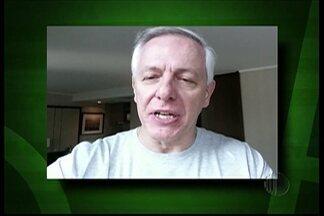 Narra aí!: Milton Leite, narrador do SporTV, faz participação especial no quadro - O narrador enviou um vídeo para a equipe do Esporte D.
