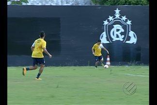 Remo se prepara para amistoso em Barcarena - Leão joga domingo contra a Seleção local.