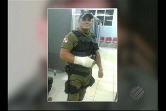 Em Altamira, PA, policial é preso suspeito de envolvimento em morte - O homem que teria contratado o PM também está detido.Policial pode ser expulso caso seja comprovada sua participação no crime.