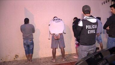 Operação da Deic busca prender 28 membros de grupo criminoso em Balneário Camboriú - Operação da Deic busca prender 28 membros de grupo criminoso em Balneário Camboriú