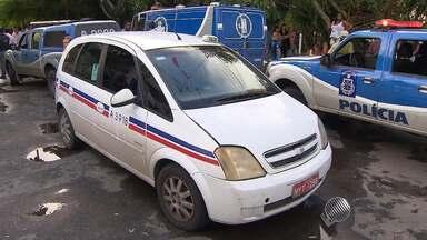 Após assalto com morte, taxistas, usuários e PM falam sobre a segurança do serviço - Um taxista foi morto durante assalto na quinta-feira (25) no bairro do Stiep.