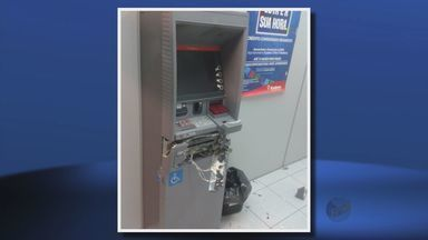 Caixa eletrônico do Bradesco é explodido no Centro de Inconfidentes (MG) - Caixa eletrônico do Bradesco é explodido no Centro de Inconfidentes (MG)