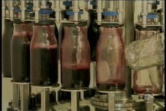 Suco de uva produzido no Vale do São Francisco possui boas substâncias para o organismo - Uma pesquisa produzida por um professor do If-Sertão comprovou isso.