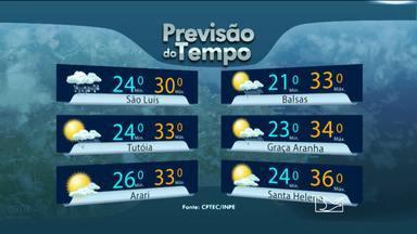 Veja a previsão do tempo para esta sexta-feira (26) - Veja a previsão do tempo para esta sexta-feira (26).