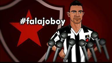 Ex-companheiros de Auto que estão hoje no Treze aderem a campanha #FalaJoBoy - Campanha do Globo Esporte segue em sua saga para conseguir uma entrevista com o atual atacante do Botafogo-PB.