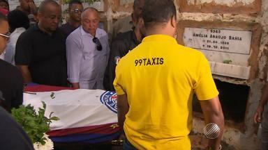 Taxista assassinado no Stiep é enterrado sob forte comoção - Colegas protestaram novamente pedindo mais segurança.